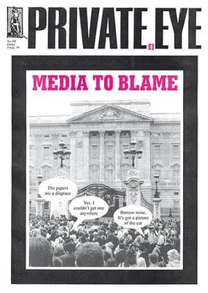 Magazine covers: Private Eye magazine, 5 September 1997