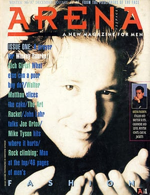 Magazine covers: Arena, issue one, winter 1986/87