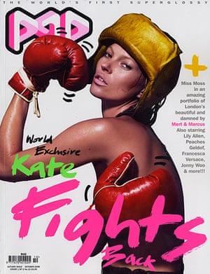 Magazine covers: Pop magazine, October 2006