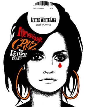 Magazine covers: Little White Lies, August/September 2006