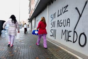 Seville corralas: Water collection