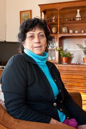 Seville corralas: Manoli Cortés portrait