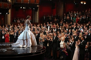20 Photos: Jennifer Lawrence accepts the best actress award
