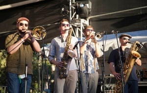 Adelaide festival day 10: Antibalas performs on stage