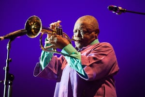 Adelaide festival day 10: Hugh Masekela headlines the Internode stage (main stage)