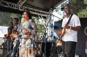 Adelaide festival day 10: Bassekou Kouyate and Ngoni Ba Workshop play on the Zoo Stage