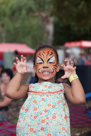 Adelaide festival day 10: Akon from Adelaide does her best tiger roar