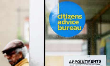 A Citizens Advice Bureau office