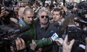 Comic-turned-politician Beppe Grillo wants to lead Italy's next government.