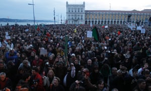 Stinging austerity has pushed the normally mild-mannered Portuguese to demonstrate.