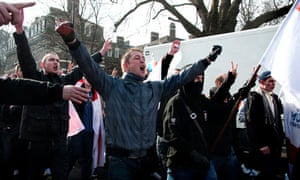 English Defence League march in london