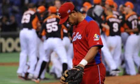 Cuba fail to advance to the Championship Round for the second straight World Baseball Classic after suffering an agonizing 7-6 walk-off defeat to the Netherlands in Tokyo. EPA/FRANCK ROBICHON