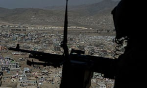A Nato helicopter has crashed in Afghanistan, killing five troops.