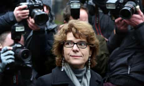 Vicky Pryce sentenced for perverting the course of justice Over Speeding Points   ***BESTPIX***