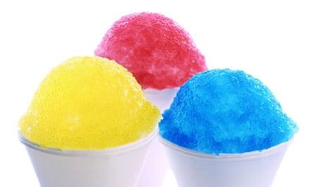 Multicoloured ices