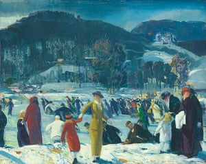 George Bellows: George Bellows, Love of Winter, 1914