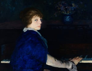 George Bellows: George Bellows, Emma at the Piano, 1914