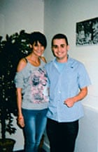 Janet Cunliffe with her son, Jordan