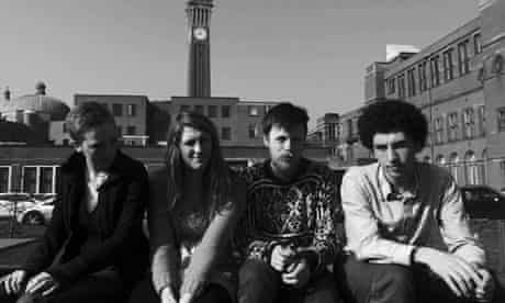 Students behind the Birmingham student housing co-operative