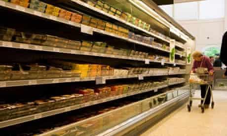 Supermarket ready meals
