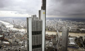 The headquarters of Commerzbank in Frankfurt am Main. Photograph: AFP/Getty Images/Thomas Lohnes