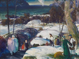 George Bellows: George Bellows, Easter Snow, 1915