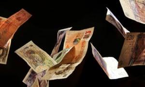 Money floating