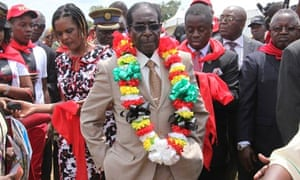 Robert Mugabe's birthday