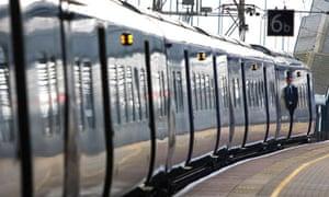 Train at Ashford station