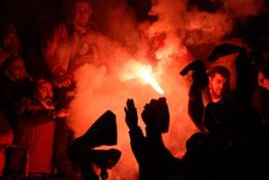 schalke: Galatasaray fans