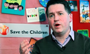Justin Forsyth, chief executive of Save the Children UK.