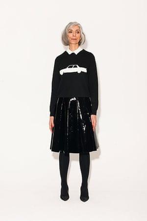 All Ages monochrome: black skirt black jumper