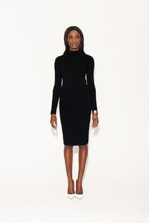 All Ages monochrome: black dress