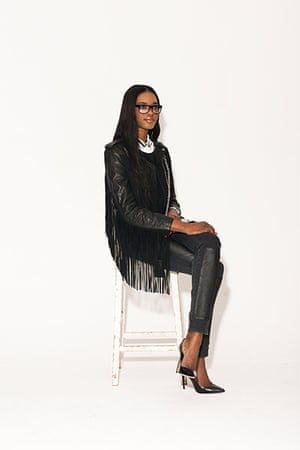 All Ages monochrome: fringed black jacket trousers