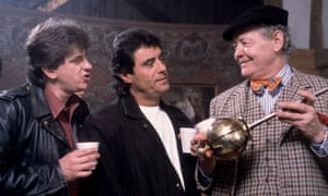 Chris Jury, Ian McShane and Dudley Sutton in Lovejoy