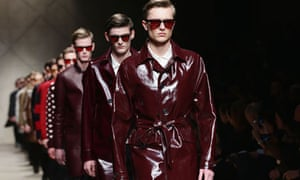 Burberry Prorsum's menswear show at Milan fashion week in January