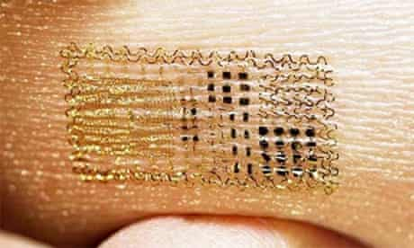 image of electronic tattoo