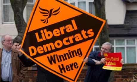 Liberal Democrat poster