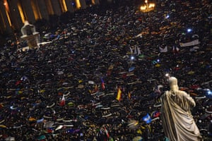 Pope elected gallery: Faithfuls react in St Peter's Square aft