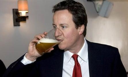 David Cameron visiting the Plough Inn, Witney, Oxfordshire, Britain - 28 Mar 2008