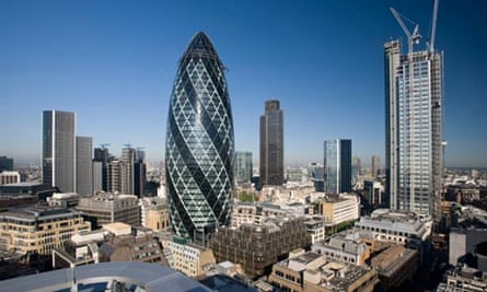 City of London financial sector