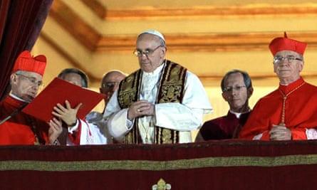 Argentina's  Cardinal Jorge Mario Bergoglio Pope Francis I