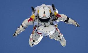 Felix Baumgartner for Red Bull Stratos
