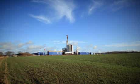 Blackpool Shale Gas Drilling
