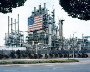 Landscape photography: BP Carson Refinery, California, 2007