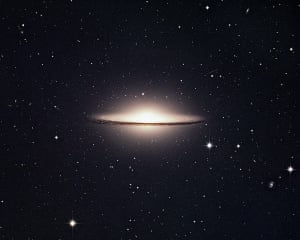 Landscape photography: The Sombrero Galaxy, M104 in Hydra