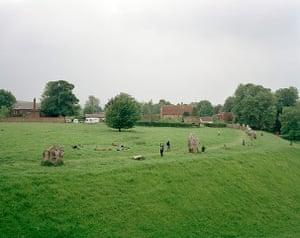 Landscape photography: Amerta Movement Workshop, Avebury Henge, Wiltshire, 2008