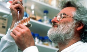 John Sulston, who helped complete the 'working draft' of the human genome sequence