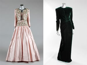 Diana Auction: A Catherine Walker gown and Victor Edelstein gown