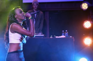 SXSW: Angel Haze performs at the Carson Daly Music Showcase